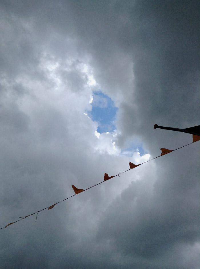 Himmel in Zoutelande